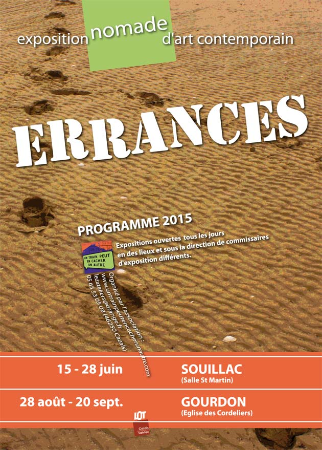 Flyer ERRANCES 2015